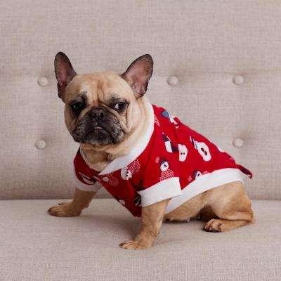 Family Flannel Dog's Snowman Sleepwear