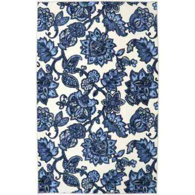 Arranged Melody Blue 5 ft. x 8 ft. Area Rug