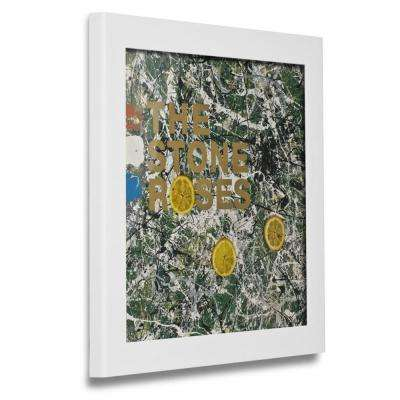 1-Opening 12 in. x 12 in. White Vinyl Record Picture Frame