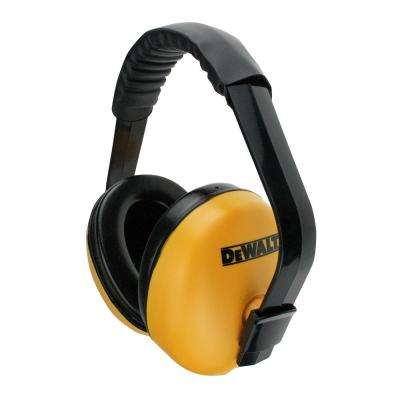 Interrupter Yellow and Black Earmuff