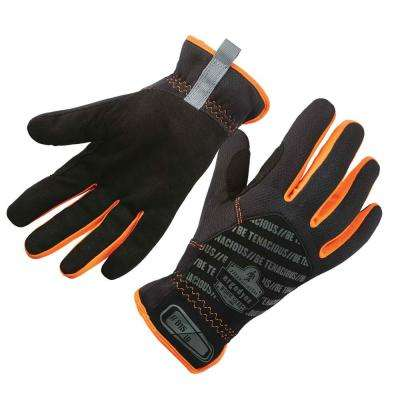 ProFlex Black QuickCuff Utility Work Gloves