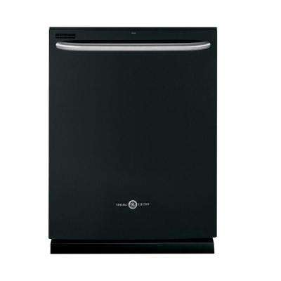 Top Control Dishwasher in Black with Steam Cleaning
