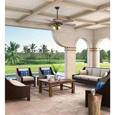 Heathridge 60 in. Indoor/Outdoor Tahoe Ceiling Fan with Universal Wall Control