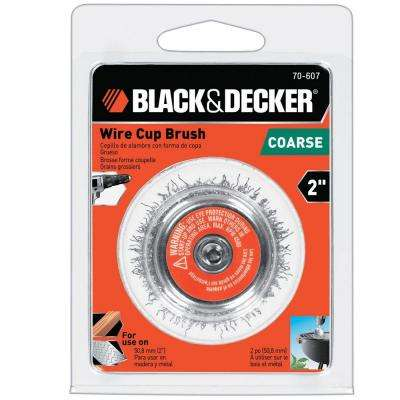 2 in. Coarse Wire Cup Brush