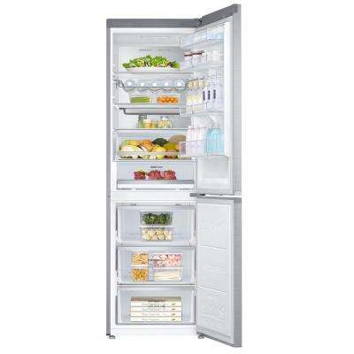 Chef Collection 24 in. W 12 cu. ft. Bottom Freezer Refrigerator in Stainless Steel Counter Depth