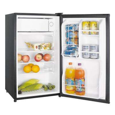 3.5 cu. ft. Mini Fridge in Stainless Look, ENERGY STAR