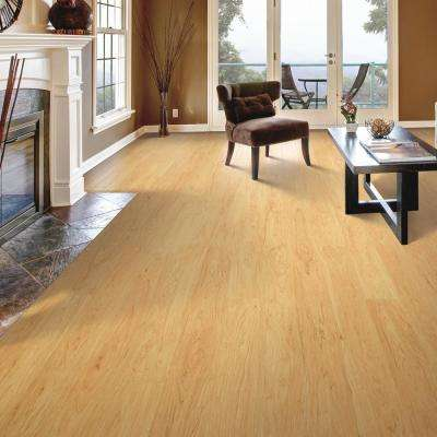 Outlast+ Northern Blonde Maple 10 mm Thick x 5-1/4 in. Wide x 47-1/4 in. Length Laminate Flooring (13.74 sq. ft./case)