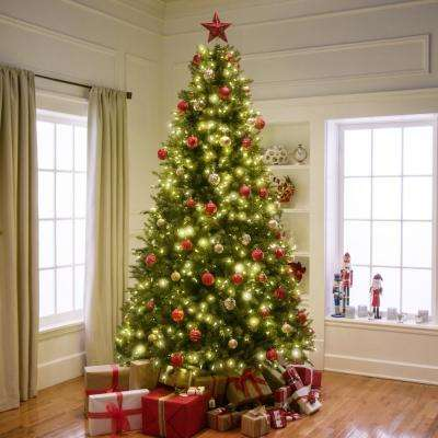 9 ft. Pre-Lit LED Matthew Fir Artificial Christmas Tree with 700 SureBright Color Changing Lights