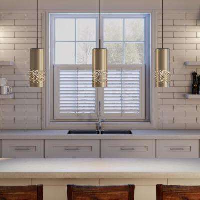 Carmelia 1-Light Satin Nickel Pendant