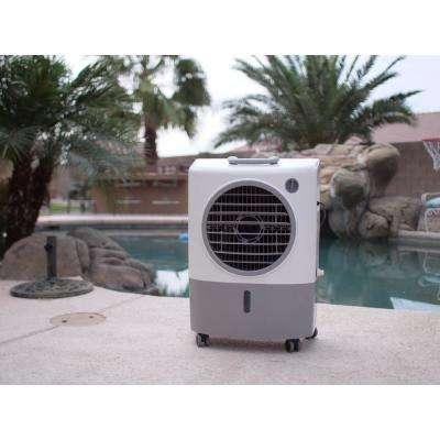 1,300 CFM 2-Speed Portable Evaporative Cooler (Swamp Cooler) for 500 sq. ft.