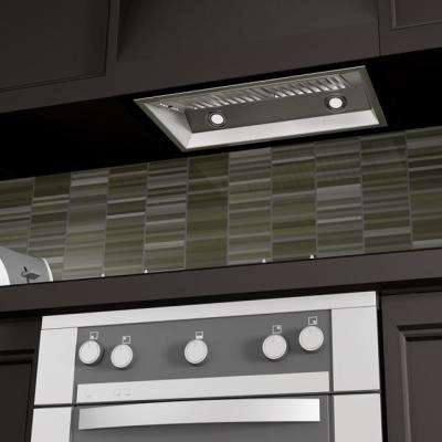 28 in. 900 CFM Outdoor Range Hood Insert in Stainless Steel