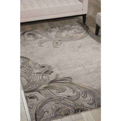 Maxell Graphite 8 ft. x 11 ft. Area Rug