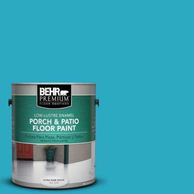 1 gal. #P480-5 High Dive Low-Lustre Porch and Patio Floor Paint