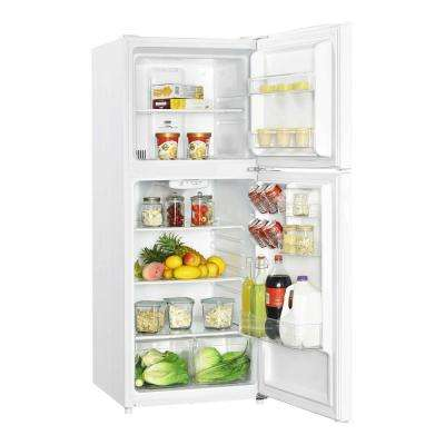 10.1 cu. ft. Top Freezer Refrigerator in White