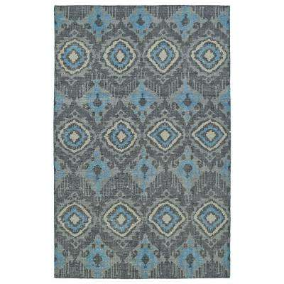 Relic Charcoal 2 ft. x 3 ft. Area Rug