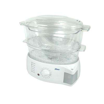 6.1 qt. Mechanical Food Steamer in White