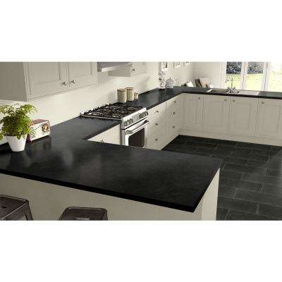 Laminate Black Countertop Samples Countertops The Home Depot