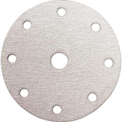 6 in. 180-Grit Hook and Loop Round Abrasive Disc (10-Pack)