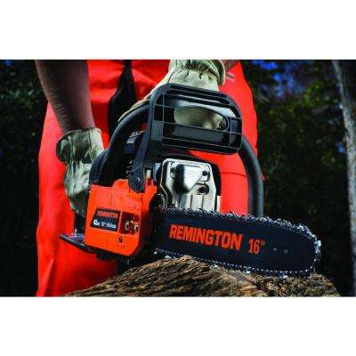 Rebel 16 in. 42cc 2-Cycle Gas Chainsaw with Heavy-Duty Carry Case and Automatic Chain Oiler