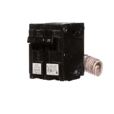 20 Amp Single-Pole Type MP Circuit Breaker with 120-Volt Shunt Trip