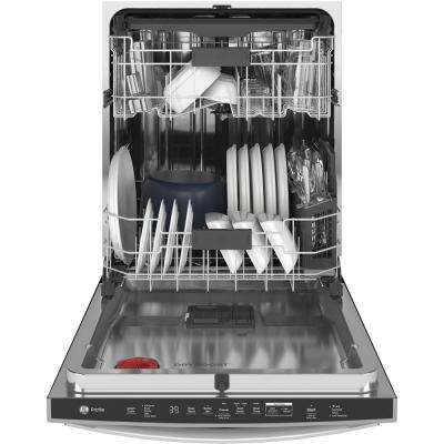 Top Control Tall Tub Dishwasher in Stainless Steel with Stainless Steel Tub and Steam Prewash, 39 dBA