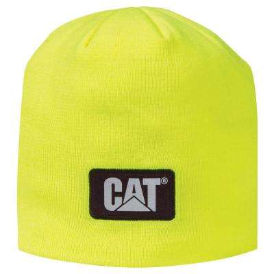 High-Visibility Men's One Size Knit Cap Beanie