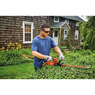 SAWBLADE 4 Amp Corded Electric 22 in. Hedge Trimmer