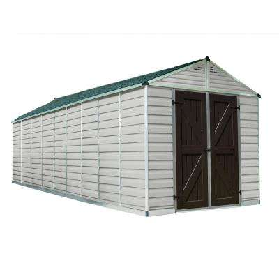 SkyLight Shed 8 ft. x 20 ft. Tan