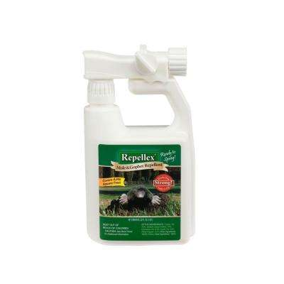 Repellex 32 oz. Ready-to-Use Mole Vole and Gopher Hose End Spray