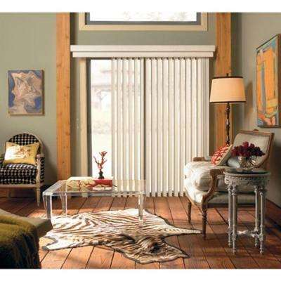 Curved Vinyl Vertical Blind