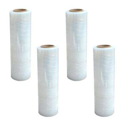 18 in. x 1500 ft. Stretch Wrap Roll (4-Pack)