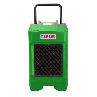 225-Pint 400 CFM Commercial LGR Dehumidifier for Water Damage Restoration Mold Remediation in Green