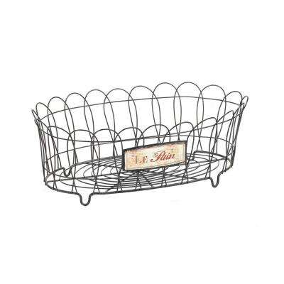 6 in. x 17 in. Metal Le Pain Wire Basket-DISCONTINUED