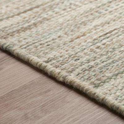 Walden Woven Wool Fog 8 ft. x 10 ft. Area Rug