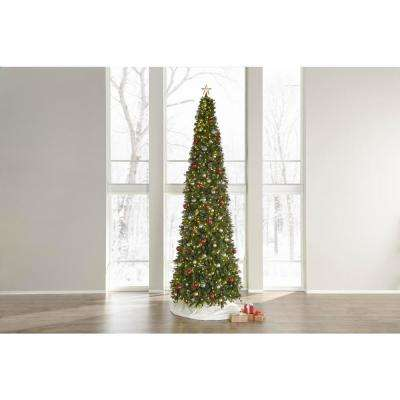 15 ft. Pre-Lit LED Alexander Pine Artificial Christmas Tree with 1,450 Warm White Lights