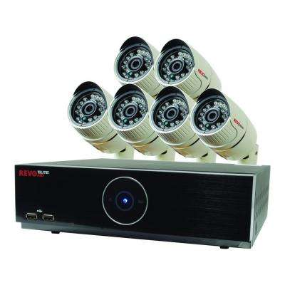 Elite HD 8-Channel 1080p 2TB NVR Surveillance System with 6 2.1 Megapixel HD Cameras
