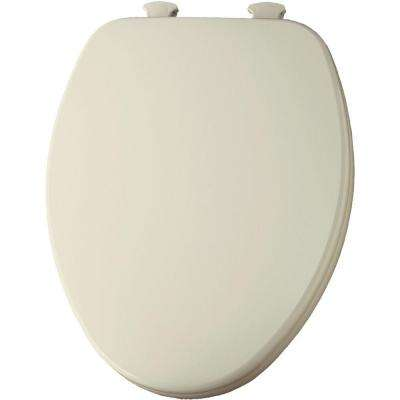 Lift-Off Elongated Closed Front Toilet Seat in Bone