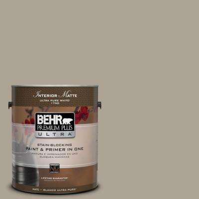 Home Decorators Collection 1 gal. #HDC-NT-14 Smoked Tan Flat/Matte Interior Paint