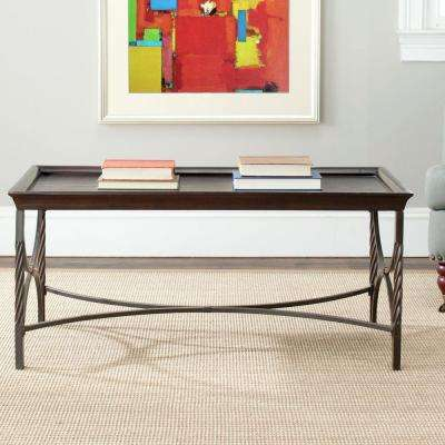 Christopher Antique Pewter Coffee Table