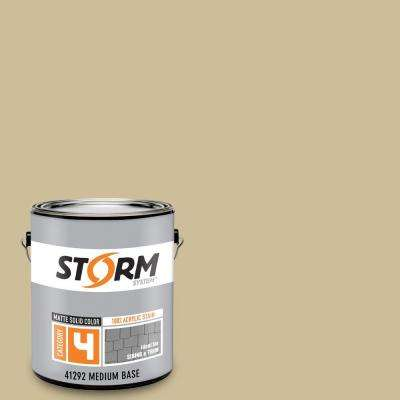 Category 4 1 gal. Sunset Beige Matte Exterior Wood Siding 100% Acrylic Latex Stain
