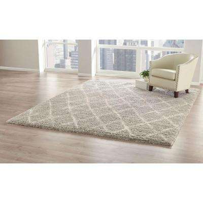 Antique Moroccan Grey 9 ft. x 12 ft. Area Rug