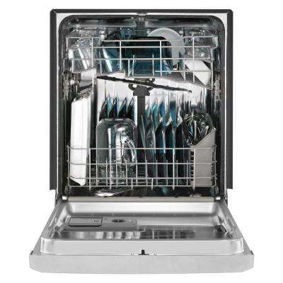 Front Control Built-in Tall Tub Dishwasher in Fingerprint Resistant Stainless Steel with Stainless Steel Tub, 50 dBA