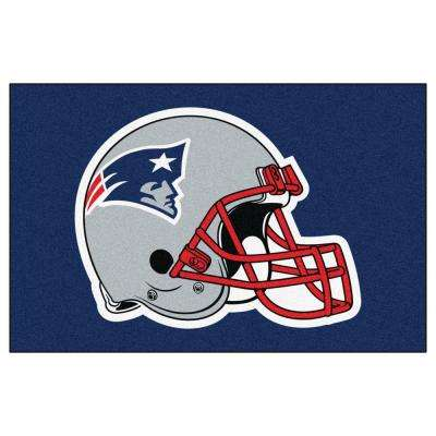 New England Patriots 19 in. x 30 in. Accent Rug