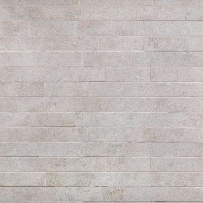 Limestone Grigio 12 in. x 24 in. 10mm Matte Porcelain Floor and Wall Mosaic Tile (6 pieces / 11.62 sq. ft. / box)