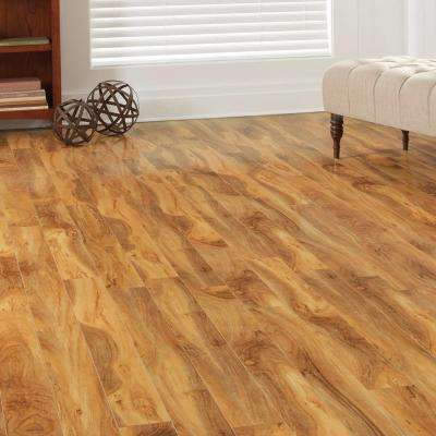 High Gloss Fiji Palm 12 mm Thick x 4-7/8 in. Wide x 47-3/4 in. Length Laminate Flooring (904.96 sq. ft. / pallet)