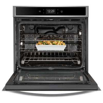 30 in. Smart Single Electric Wall Oven in Fingerprint Resistant Stainless Steel