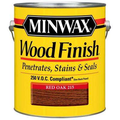 1 gal. Oil-Based Red Oak Wood Finish 250 VOC Interior Stain (2-Pack)