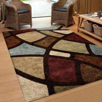 Oval Day Brown 5 ft. x 8 ft. Indoor Area Rug
