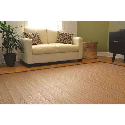 Villager Natural Light Brown 5 ft. x 8 ft. Area Rug
