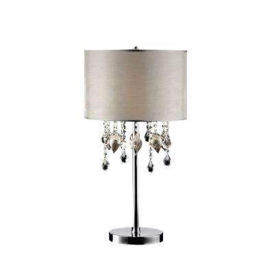 29 in. Chrome Table Lamp-DISCONTINUED